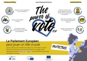 Le JRS s'engage pour le vote aux Européennes