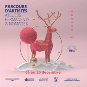 Parcours d'artistes de Metz pour Noël 2020