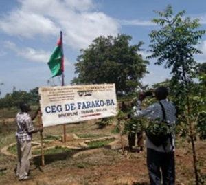 Des panneaux photovoltaïques pour l'école de Farako Ba