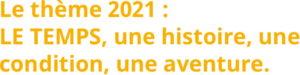 Les Entretiens de Chartreuse 2021